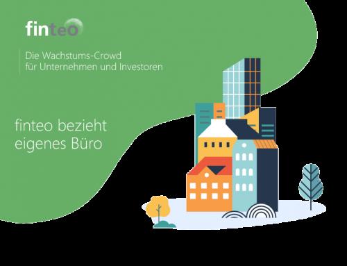 Crowdfunding-Portal finteo bezieht eigenes Büro