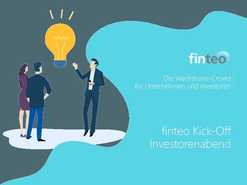 Kick-Off Investorenabend finteo