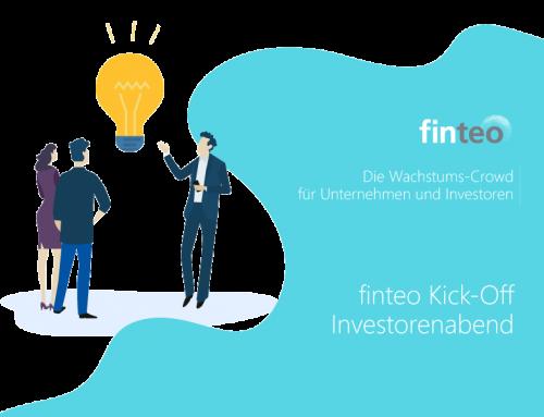 Kick-Off Investorenabend der Crowdinvesting-Plattform finteo