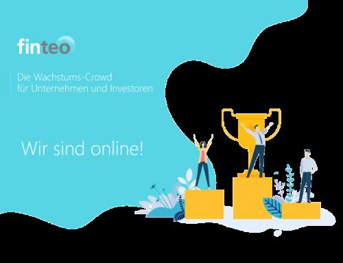 Offizieller Livegang der neuen Crowdinvesting-Plattform in Deutschland: finteo!