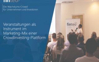 Veranstaltungen als Instrument im Marketing-Mix einer Crowdinvesting-Plattform