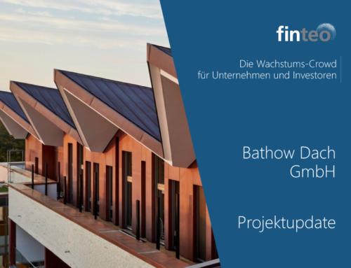 Projektupdate: Bathow Dach GmbH im finteo Interview