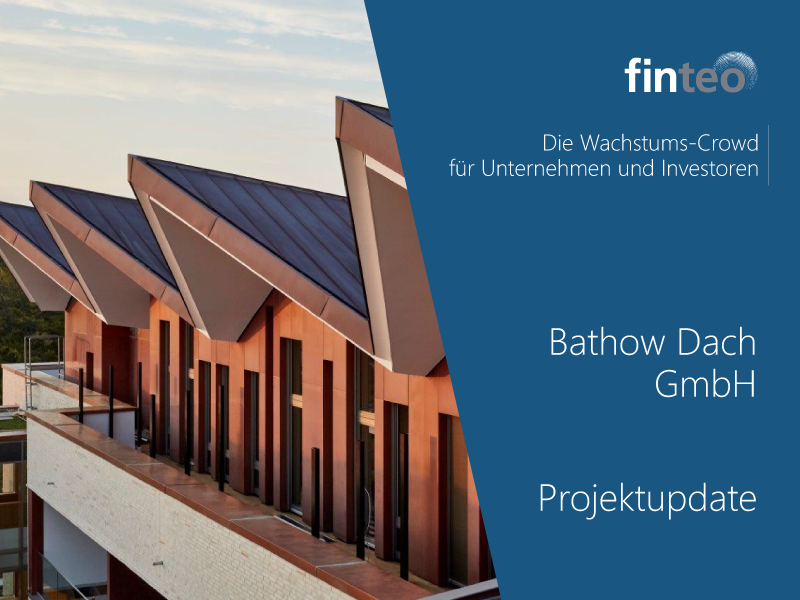 Bathow Dach Gmbh Projektupdate