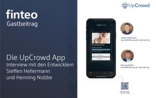 Up Crowd App Crowdinvesting Steffen Hellermann und Henning Nobbe